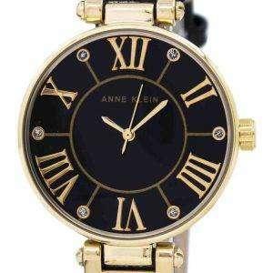 앤 클라인 쿼 츠 다이아몬드 악센트 1396BMBK 여자 시계
