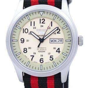 세이 코 5 스포츠 군 자동 일본 만든 나토 스트랩 SNZG07J1 NATO3 남자의 시계