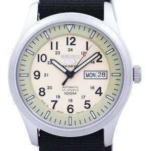 세이 코 5 스포츠 군 자동 일본 만든 나토 스트랩 SNZG07J1 NATO4 남자의 시계