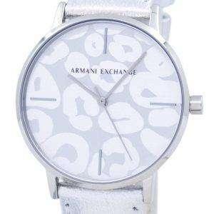 아르마니 익스체인지 아날로그 석 영 AX5539 여자의 시계