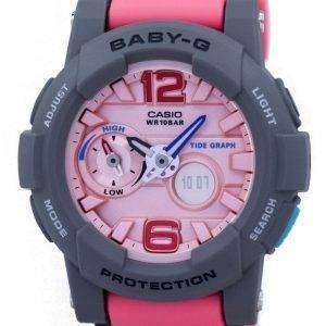 건반 베이비-G 조 수 그래프 아날로그 디지털 BGA-180-4B2 BGA180-4B2 여자 시계
