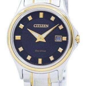시민 챈들러 아날로그 GA1039-53E 에코 드라이브 여자의 시계