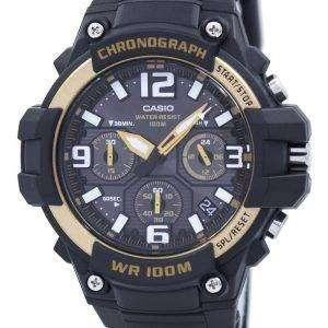 카시오 크로 노 그래프 아날로그 MCW-100 H-9A2VDF MCW100H-9A2VDF 남자의 시계