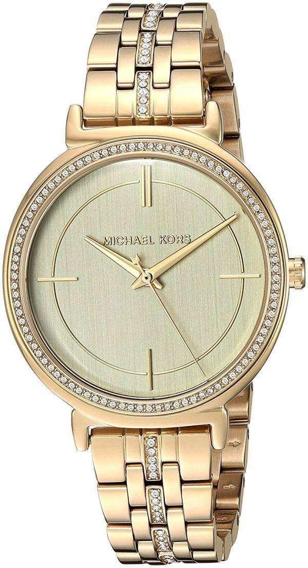 마이클 Kors Cinthia 석 영 MK3681 여자의 시계