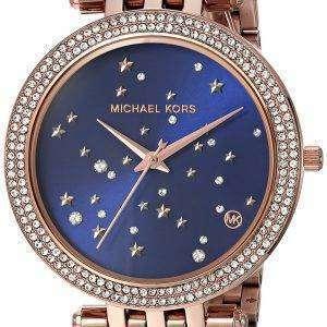마이클 Kors Darci 하늘 포장 석 영 MK3728 여자의 시계
