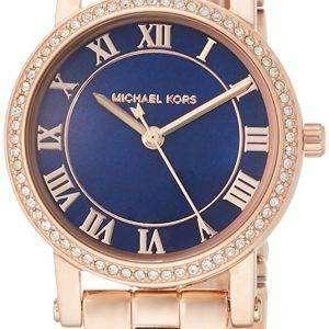 마이클 Kors 몸집이 작은 누리 석 영 다이아몬드 악센트 MK3732 여자의 시계