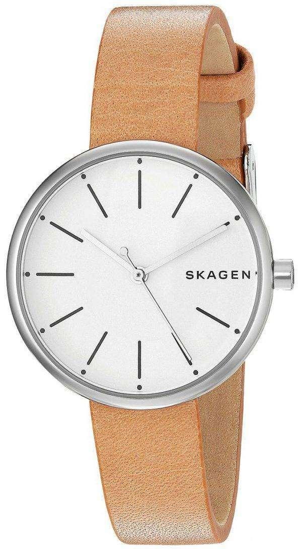 스 카 겐 Signatur 아날로그 석 영 SKW2594 여자의 시계