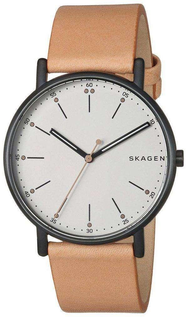 스 카 겐 Signatur 아날로그 석 영 SKW6352 남자의 시계