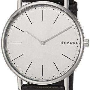스 카 겐 Signatur 슬림 티타늄 석 영 SKW6419 남자의 시계