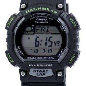 카시오 조명 기 힘든 태양 세계 시간 STL-S100H-1AV STLS100H-1AV 남자 시계