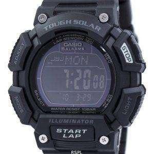 카시오의 터프 솔 라 알람 디지털 STL-S110H-1B2DF STLS110H-1B2DF 남자의 시계