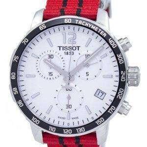 Tissot Quickster NBA 시카고 정통 크로 노 그래프 T095.417.17.037.04 T0954171703704 남자의 시계