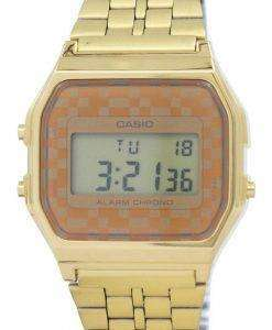 카시오 빈티지 크로 노 그래프 알람 디지털 A159WGEA-9A 남자 시계
