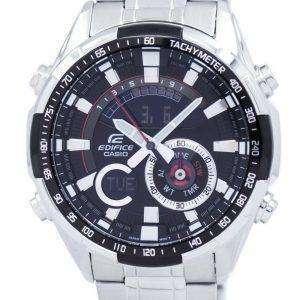 건반 건물 크로 노 그래프 아날로그 디지털 시대-600 D-1AV ERA600D-1AV 남자의 시계