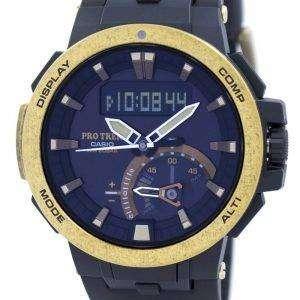 건반 ProTrek 트리플 센서 무선 제어 힘든 태양 PRW-7000V-1 PRW7000V-1 남자의 시계