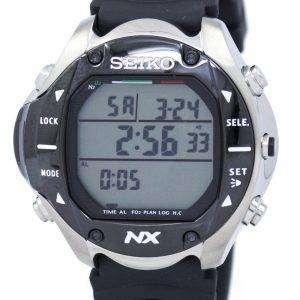 세이 코 다이빙 컴퓨터 디지털 석 영 STN009 STN009J1 STN009J 남자의 시계