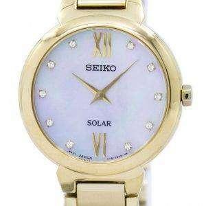 세이 코 태양 다이아몬드 악센트 SUP384 SUP384P1 SUP384P 여자의 시계