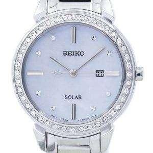 세이 코 태양 다이아몬드 악센트 SUT327 SUT327P1 SUT327P 여자의 시계