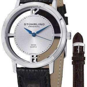 Stuhrling 원래 윈체스터 대성당 석 영 388G 2입니다. SET.01 남자의 시계