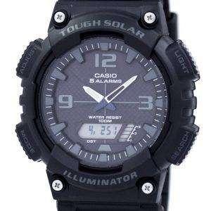 카시오 청소년 조명 기 힘든 태양 아날로그 디지털 AQ-S810W-1A2V AQS810W-1A2V 남자의 시계