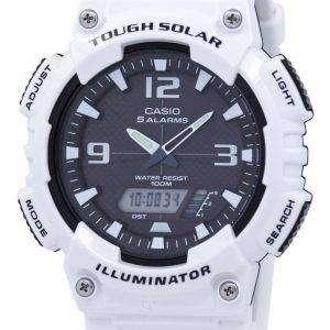 카시오 청소년 조명 알람 힘든 태양 아날로그 디지털 AQ-S810WC-7AV AQS810WC-7AV 남자 시계