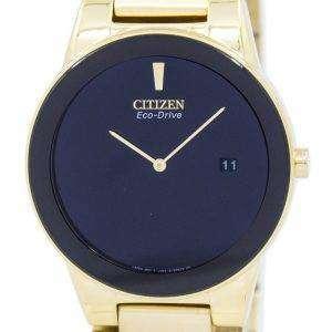 시민 공리 에코-드라이브 AU1062-56E 남자의 시계