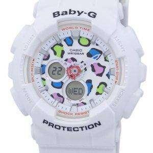 건반 베이비-G 아날로그 디지털 바-120LP-7A1 여자의 시계