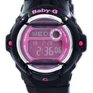 건반 베이비-G 세계 시간 Telememo BG 169R 1B 여자 시계