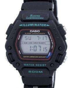 카시오 디지털 클래식 알람 크로 노 그래프 WR200M DW-290-1VS DW-290-1 남자의 시계