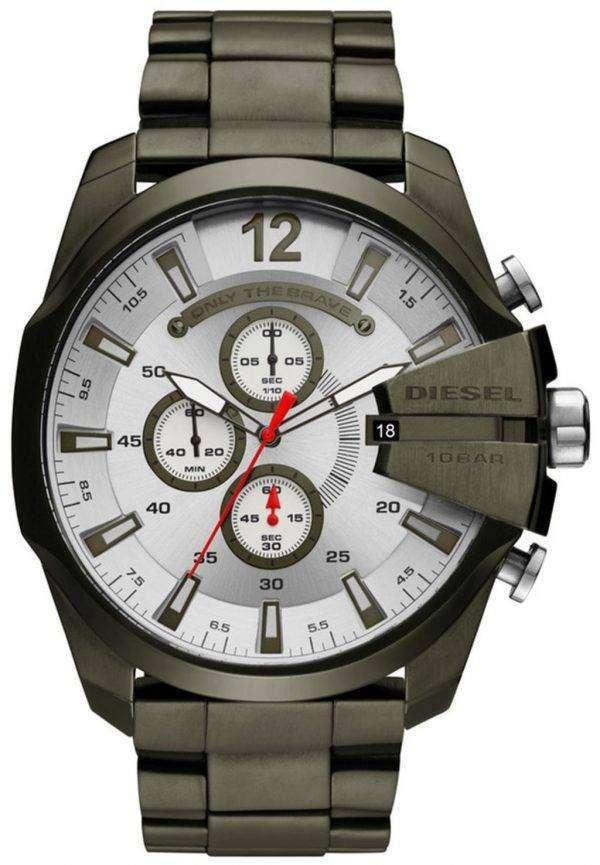 디젤 시간대 메가 최고 크로 노 그래프 석 영 DZ4478 남자의 시계