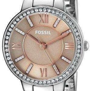 화석 버지니아 석 영 다이아몬드 악센트 ES4147 여자의 시계