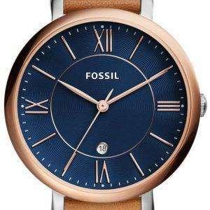 화석 재클린 석 영 ES4274 여자의 시계