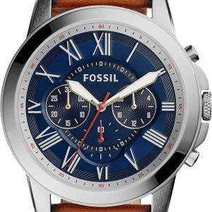 화석 부여 크로 노 그래프 석 영 FS5210 남자의 시계