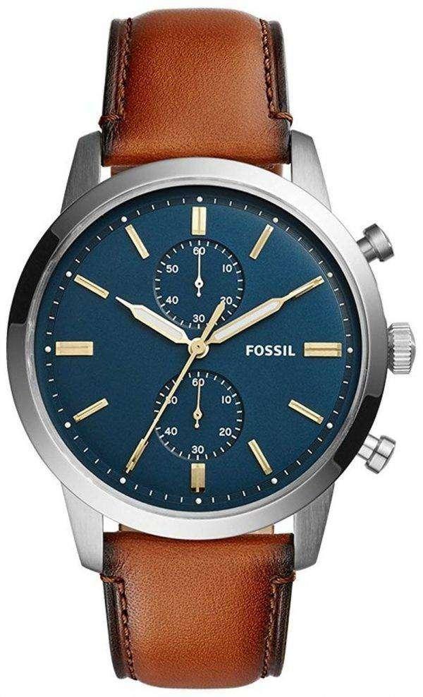 화석 도회지 크로 노 그래프 석 영 FS5279 남자의 시계