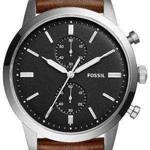 화석 도회지 크로 노 그래프 석 영 FS5280 남자의 시계