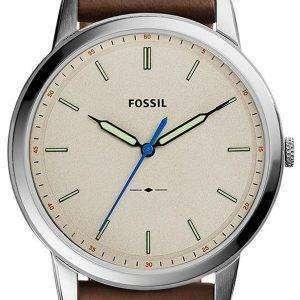 미니 멀 슬림 3 H 석 영 FS5306 화석 남자의 시계