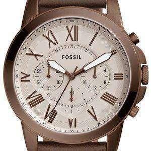 화석 부여 크로 노 그래프 석 영 FS5344 남자의 시계