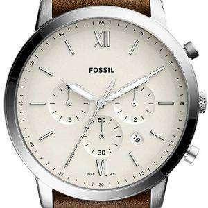 화석 Neutra 크로 노 그래프 석 영 FS5380 남자의 시계