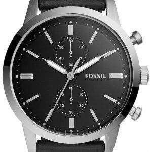 화석 도회지 크로 노 그래프 석 영 FS5396 남자의 시계