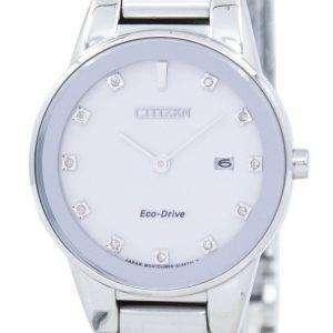 시민 공리 에코-드라이브 다이아몬드 악센트 GA1050 51B 여자 시계