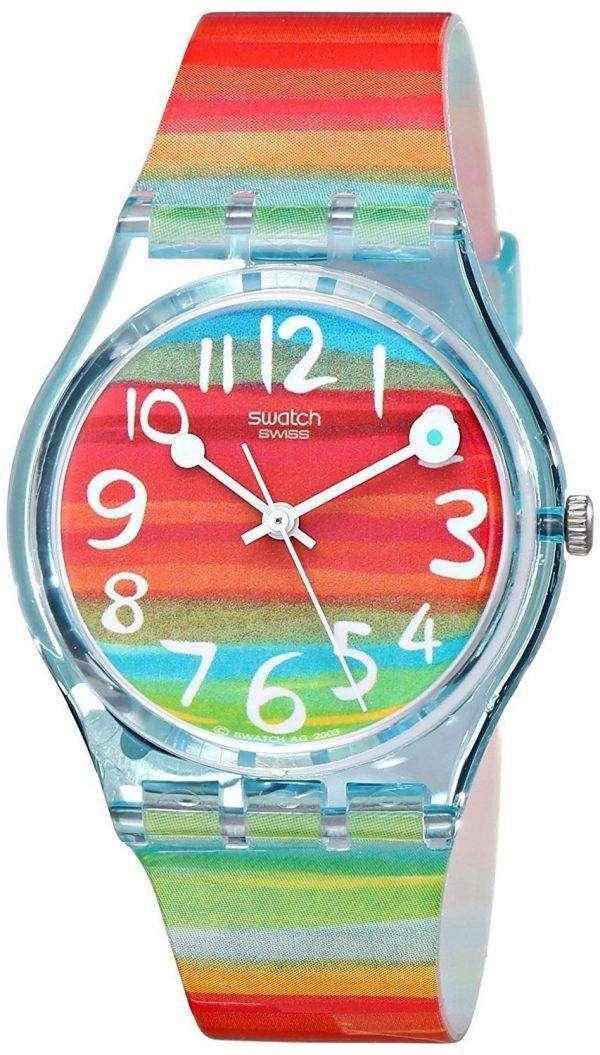 견본 원본 색상 스카이 석 영 GS124 남 여 시계