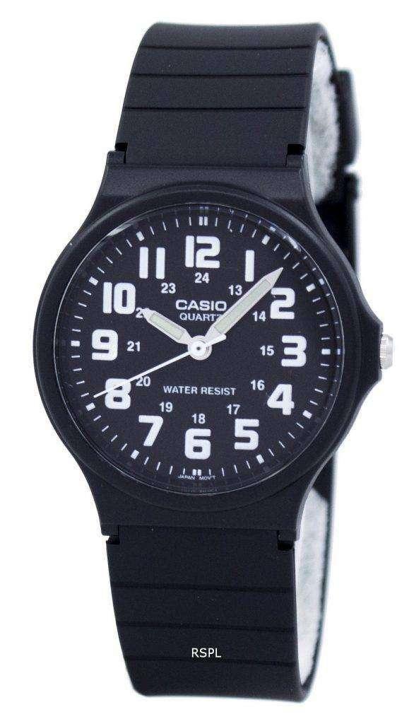 Casio 클래식 아날로그 쿼 츠 MQ-71-1B MQ71-1B 남 여 시계
