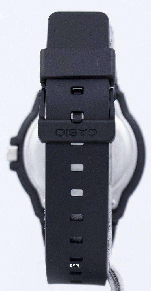카시오 석 영 아날로그 블랙 다이얼 MRW-200 H-9BVDF MRW-200 H-9BV 남자의 시계