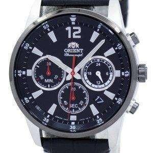 동양 스포츠 크로 노 그래프 쿼 츠 일본 라 KV0005B00C 남자의 시계를 만든