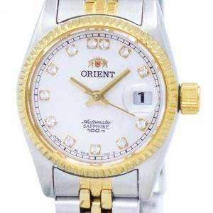 굴 자동 다이아몬드 악센트 SNR16002W 여자 시계 방향