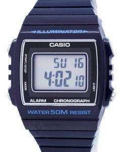 카시오 디지털 알람 크로 노 그래프 W-215 H-2AVDF W-215 H-2AV 남녀 시계