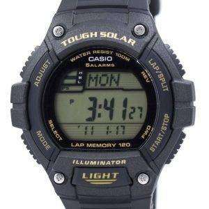 카시오 청소년 디지털 힘든 태양 5 경보 W-S220-9AVDF 남자의 시계