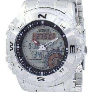 Casio Outgear 사냥 타이머 조명 나침반 AMW-704 D-7AV AMW704D-7AV 남자 시계