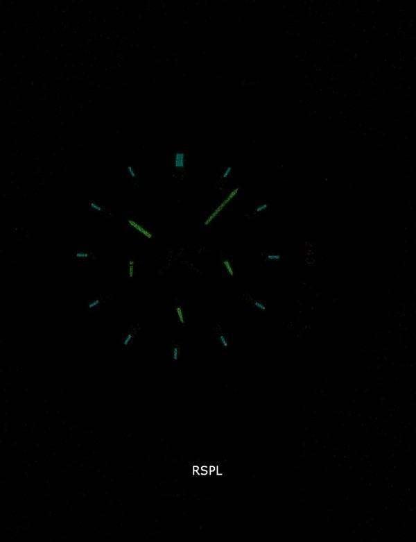 석 영 AN8072-58E 남자 시민 크로 노 그래프 타키 미터 시계