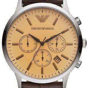 엠포리오 아르마니 클래식 크로 노 그래프 쿼 츠 AR2433 남자 시계